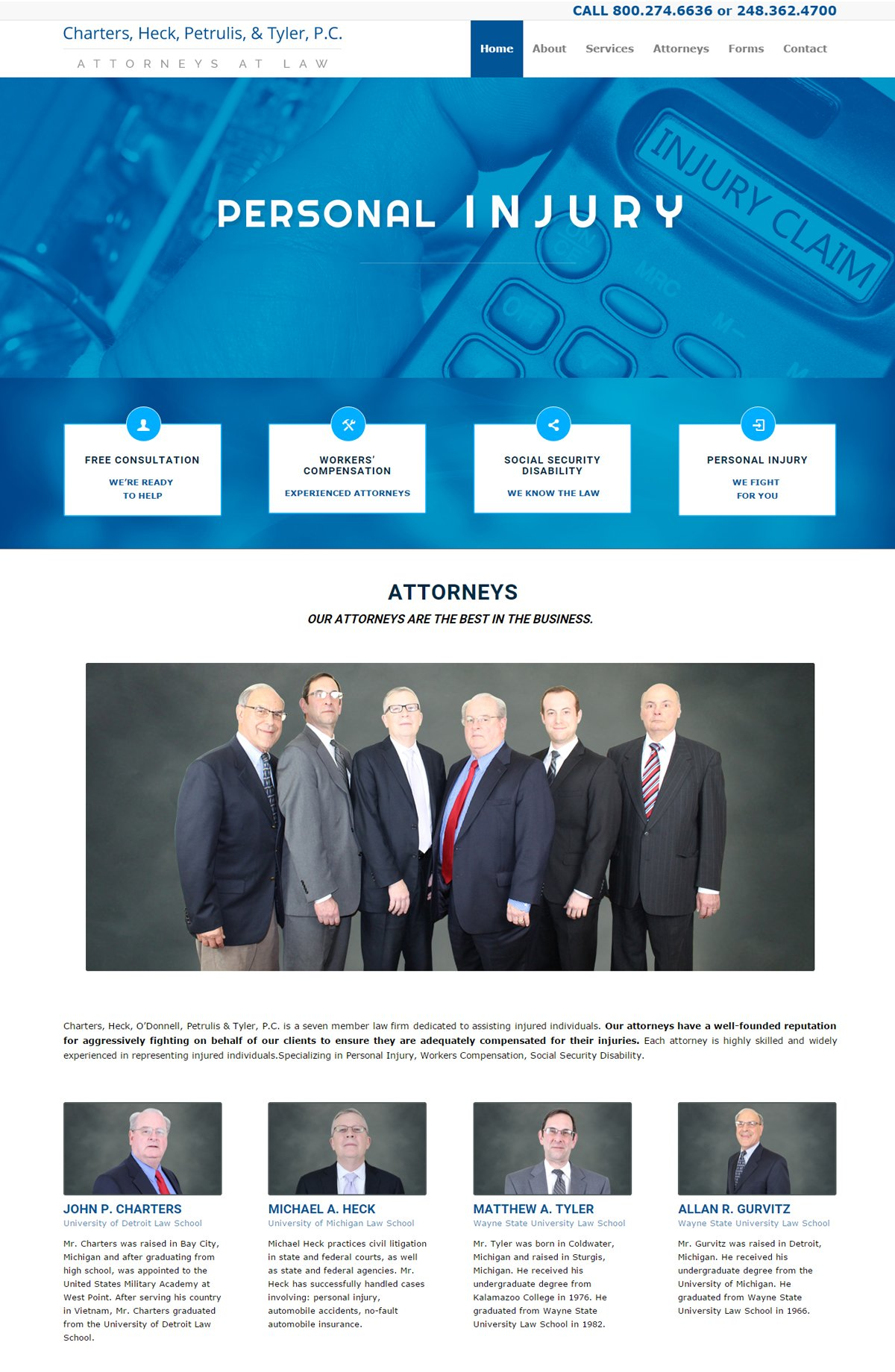 Charters Law Firm