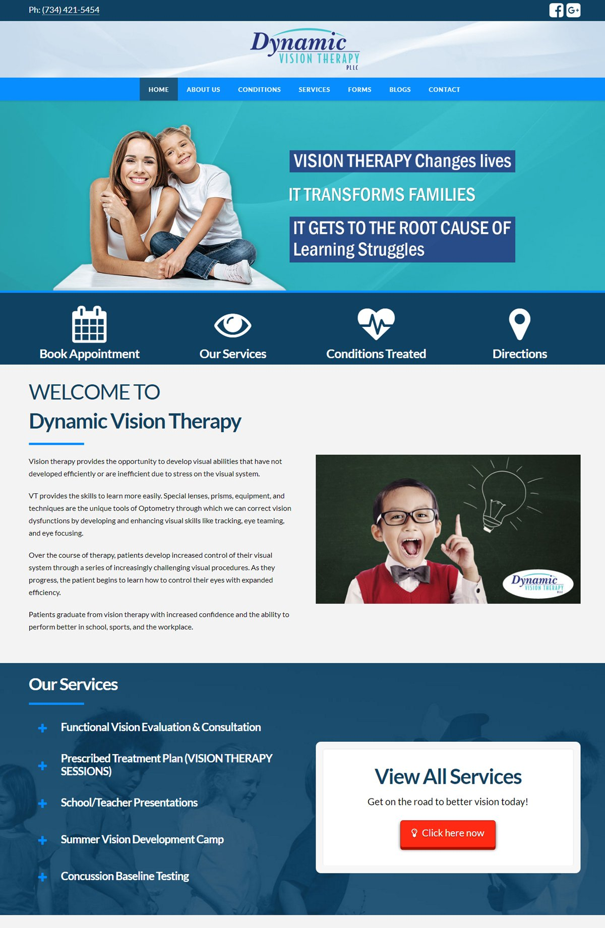 Dynamic Vision Therapy